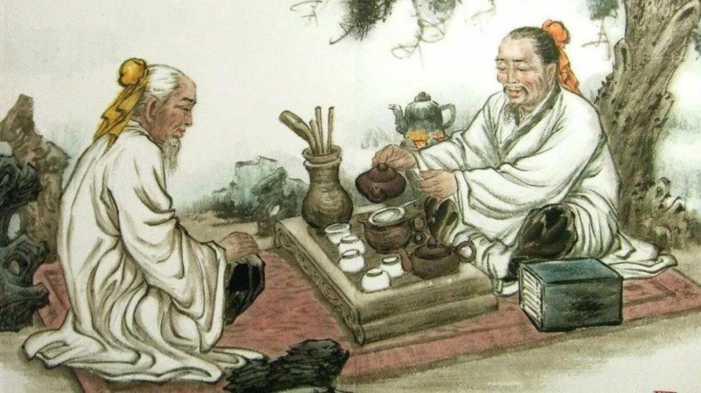 , История возникновения чая. Китайская история происхождения