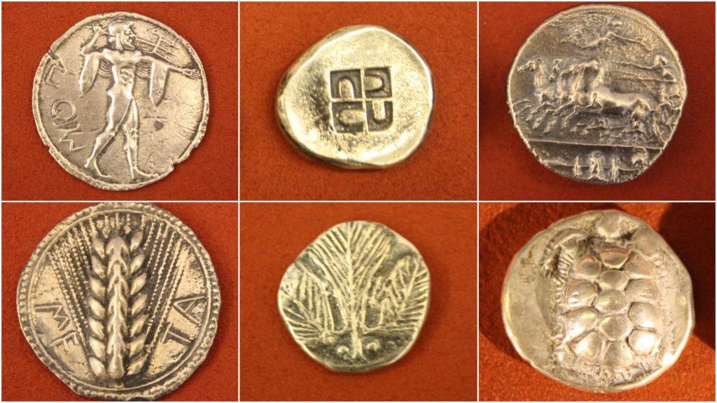 , История  возникновения денег: появление