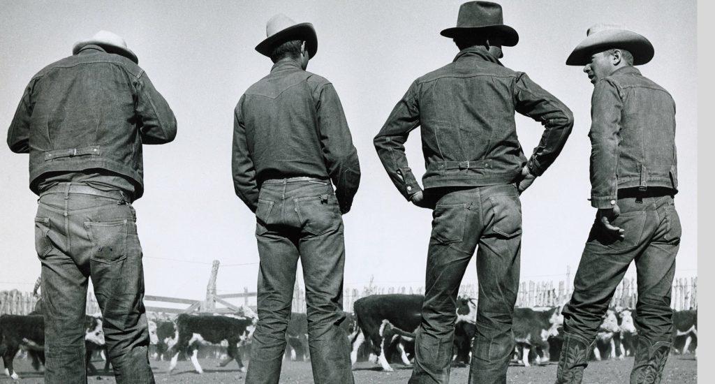 , История возникновения  джинсов: первые джинсы Levi's на Клондайке