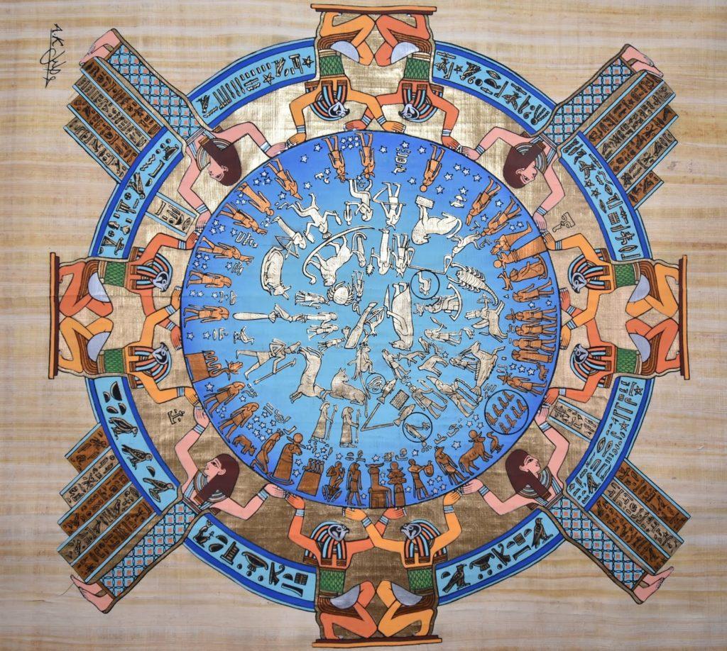 , История  возникновения календаря: отсчитай 12 месяцев