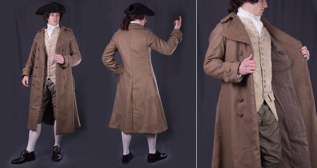 , История  возникновения пальто: испанский «palltoque» с капюшоном