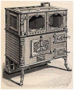, История  возникновения газовой плиты: кухонные плиты