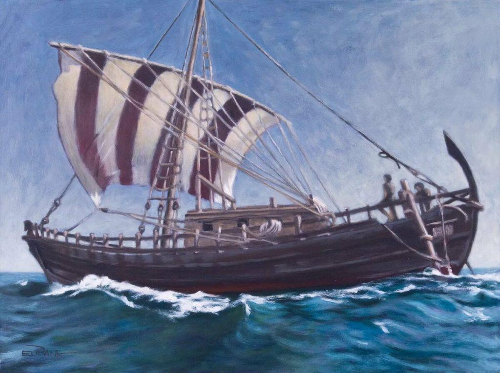 , История возникновения кораблей. Ищем с ветром «общий язык»