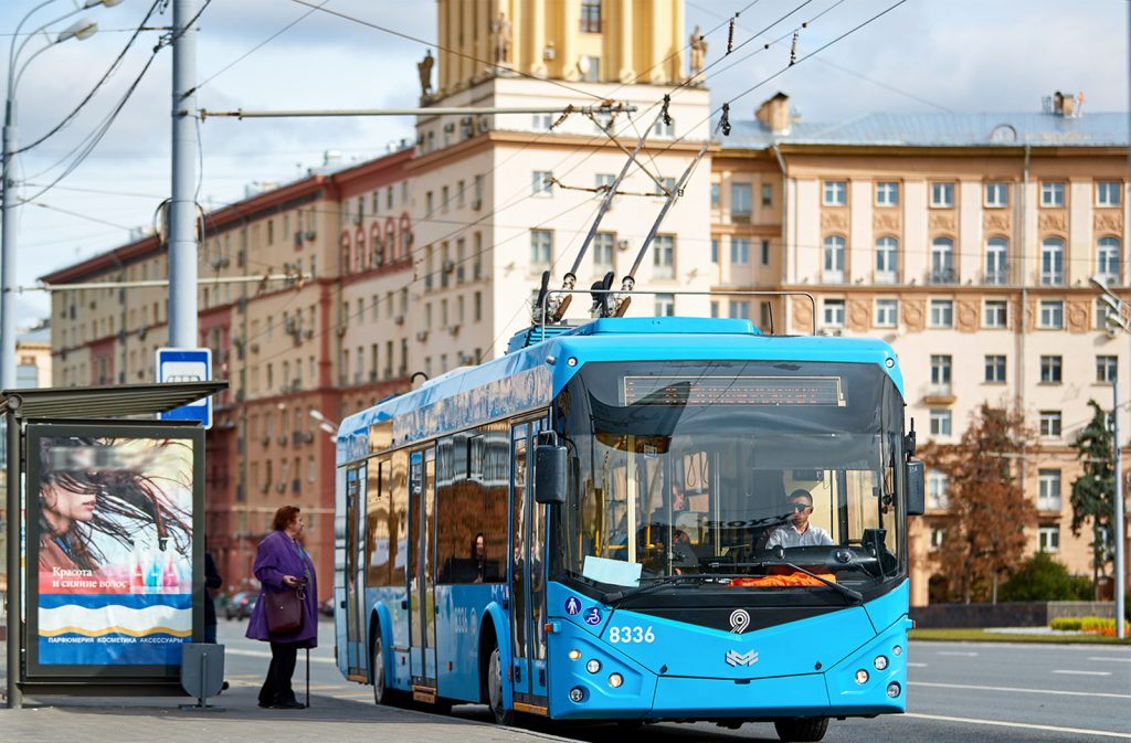 , История троллейбуса с немецкими корнями